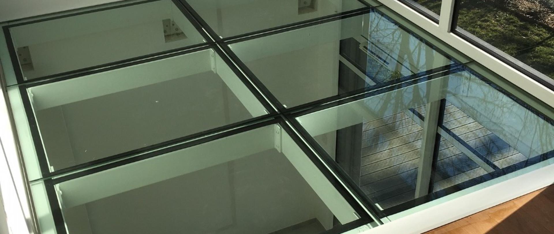 Dalle de verre sur mesure etude fabrication et for Fenetre verre securit