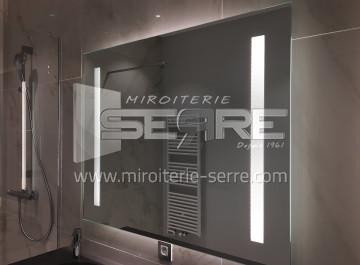 Etude et fabrication pose de miroir de salle de bain - Pose miroir salle de bain ...