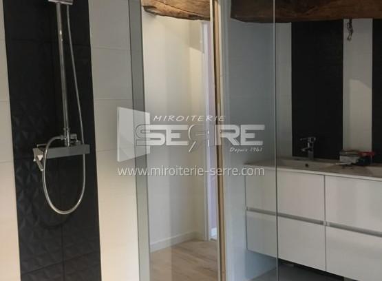 etude et fabrication paroi de douche sur mesure miroiterie serre. Black Bedroom Furniture Sets. Home Design Ideas