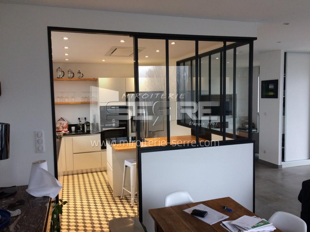 Ilot Central Fait Maison ~ Etude Et Fabrication Verri Re Int Rieure Sur Mesure Sur Lyon