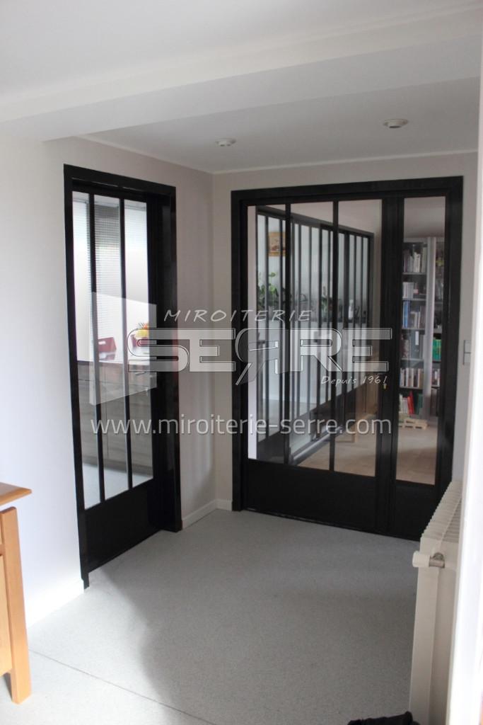 Etude Et Fabrication Portes Vitrées Miroiterie SERRE - Portes vitrées