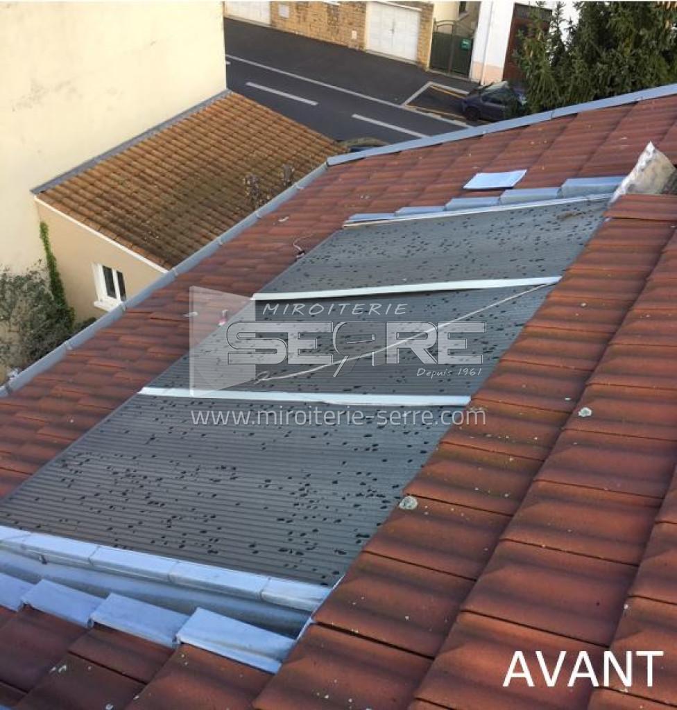 Etude et fabrication Toiture en polycarbonate alvéolaire proche de Lyon (69) - Miroiterie SERRE